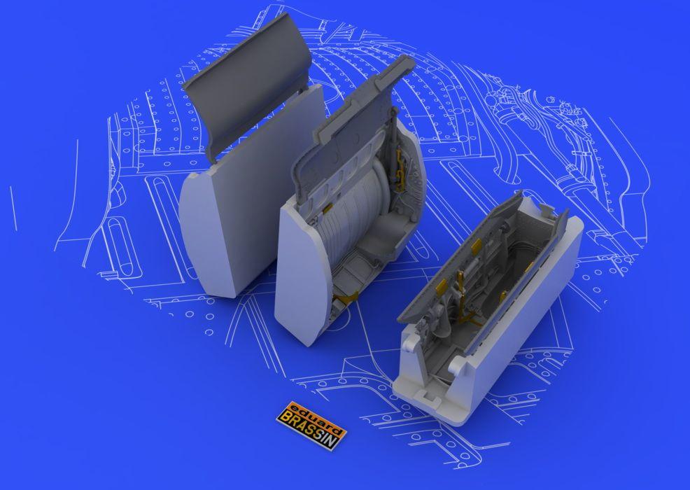 Eduard MiG-21 wheel wells (EDUARD)