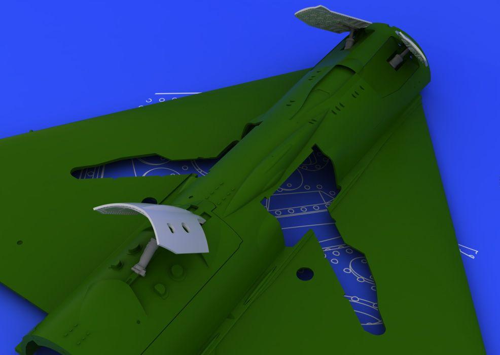 Eduard MiG-21 late airbrakes (EDUARD)