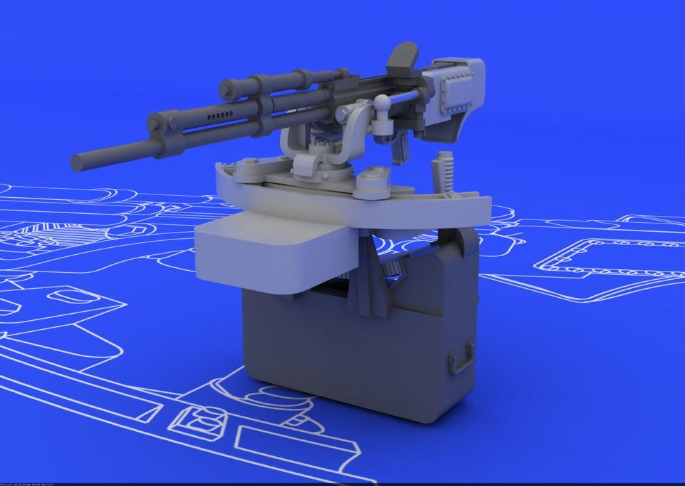 Eduard Il-2 UBT gun (TAMIYA)