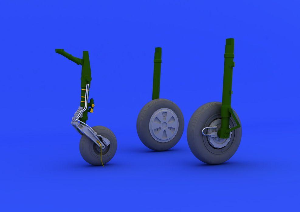 Eduard MiG-21PFM wheels (EDUARD)