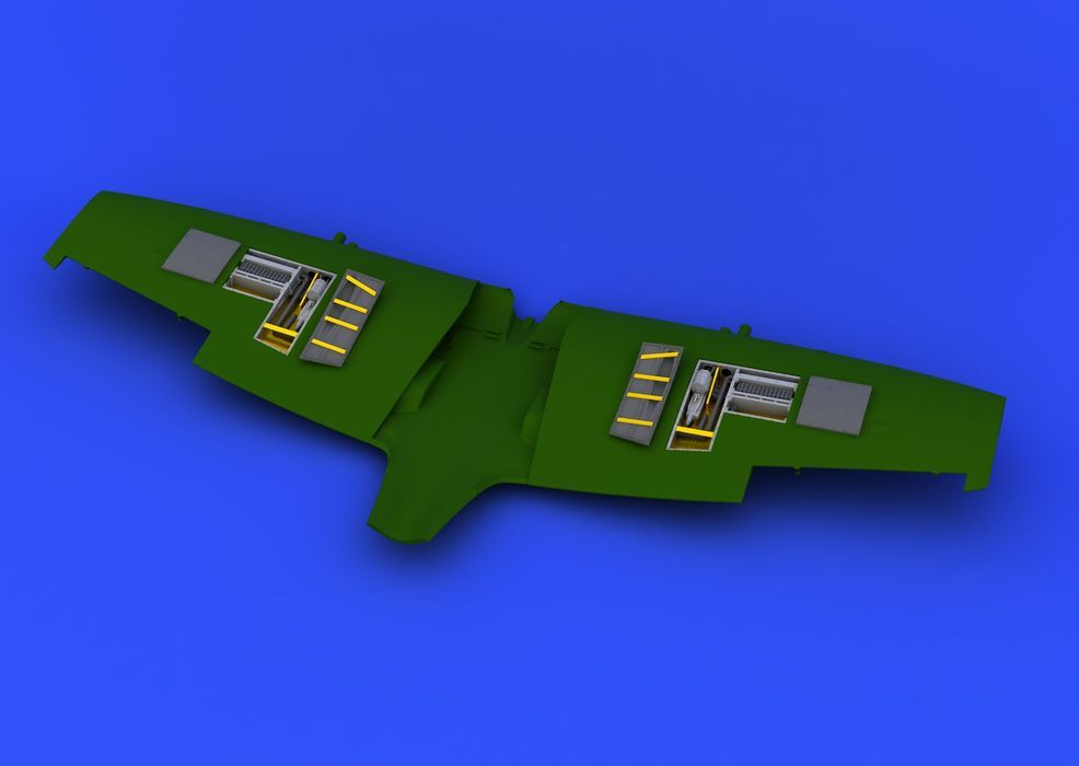 Eduard Spitfire Mk.VIII gun bays (EDUARD)