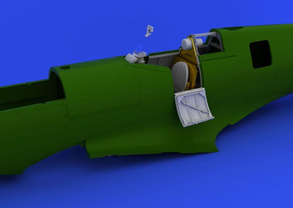 Eduard Spitfire Mk.I cockpit (AIRFIX)