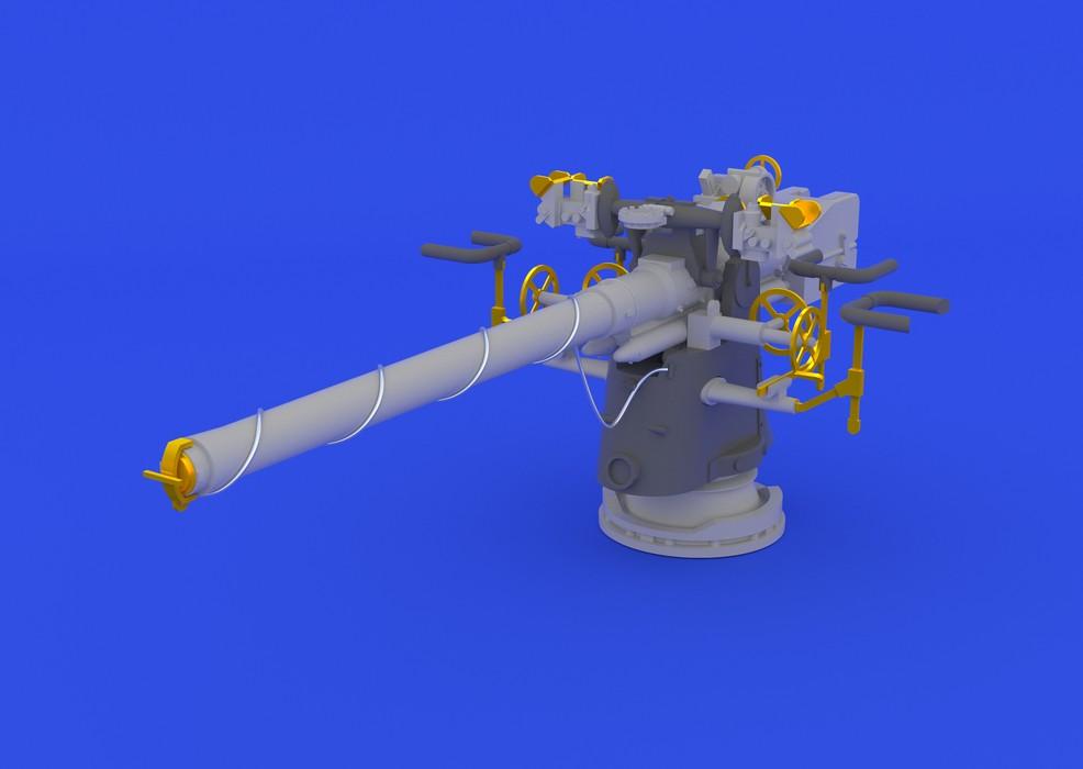 Eduard German Submarine 8,8cm gun