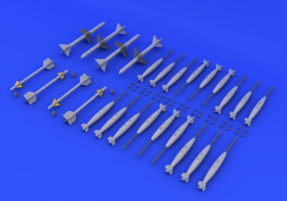 Eduard F-4 armament