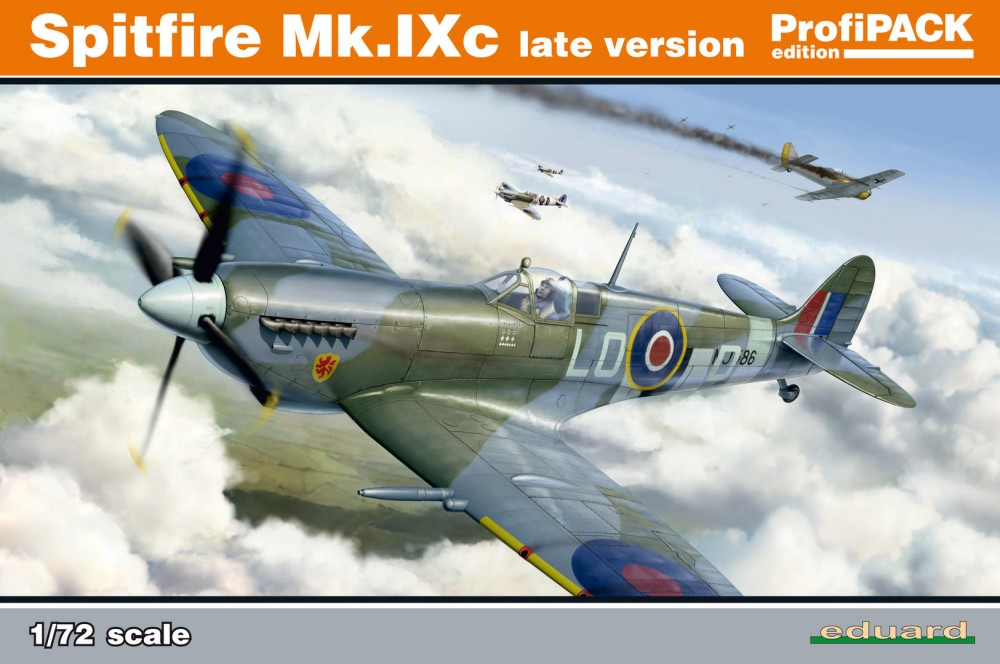 Eduard Spitfire Mk. IXc late version