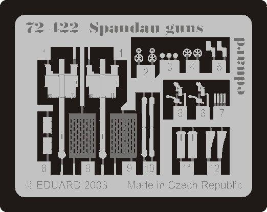 Eduard Spandau Guns WWI