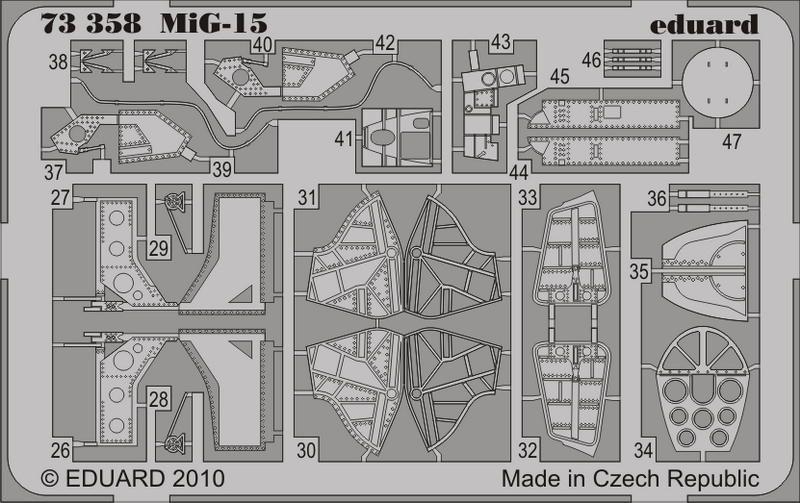 Eduard MiG-15 (Airfix)