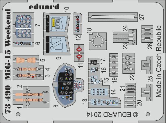 Eduard MiG-15 Weekend (Eduard)
