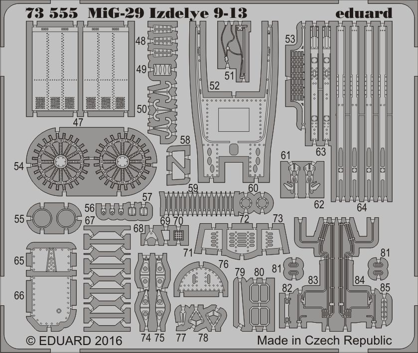 Eduard MiG-29 Izdelye 9-13 (Zvezda)