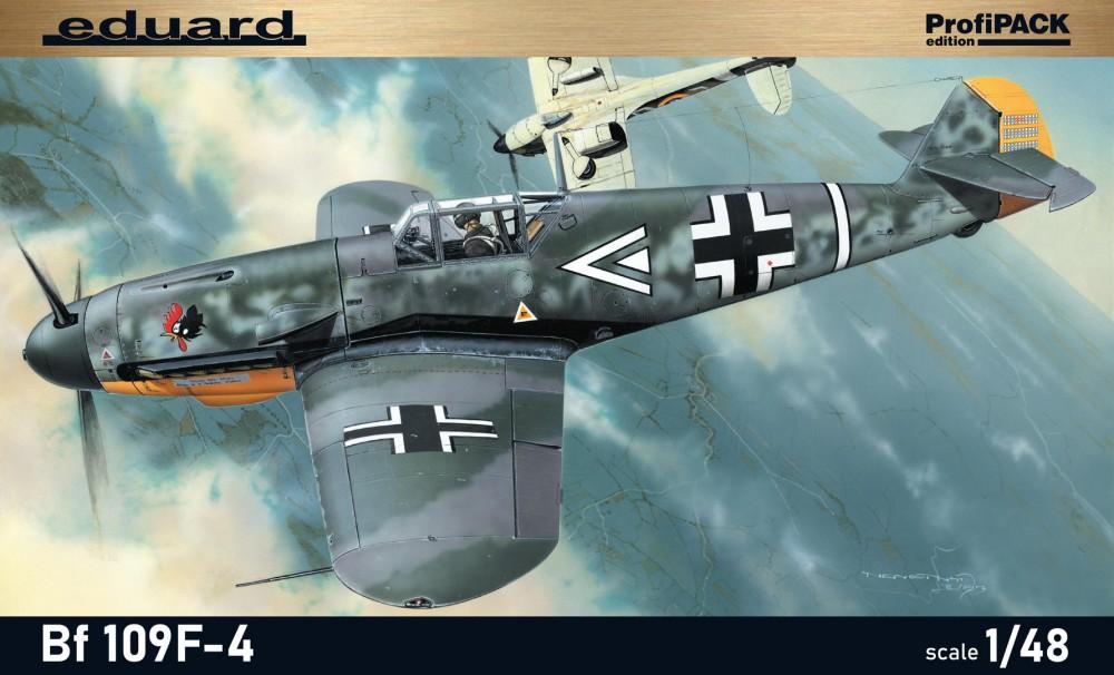Eduard  Bf 109F-4 Profipack
