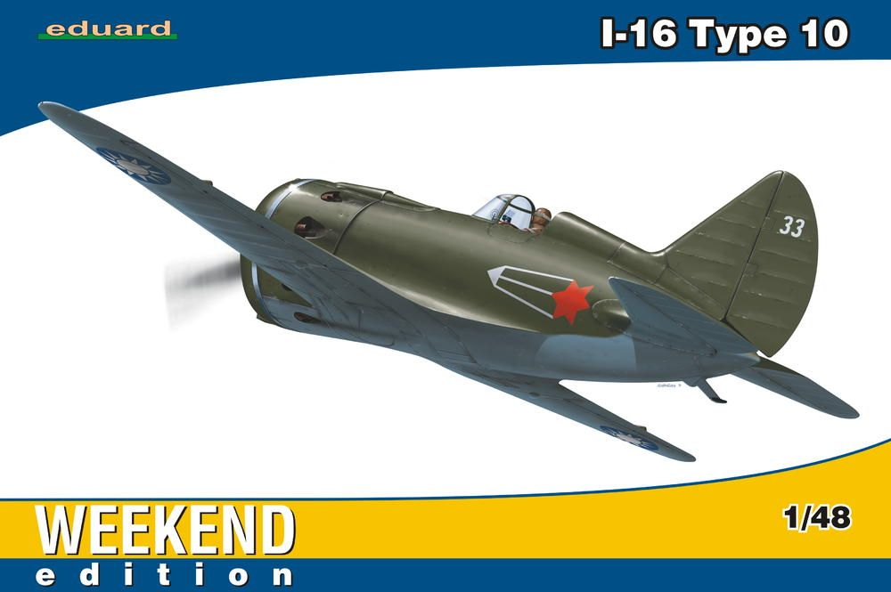 Eduard I-16 type 10 Weekend