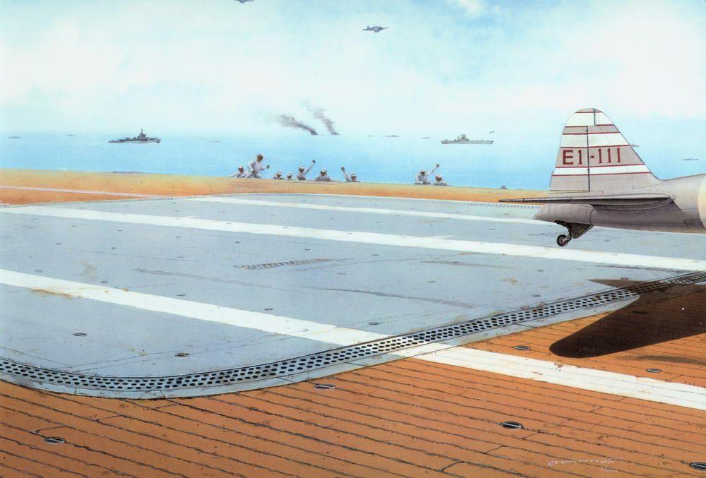 Eduard Japan Navy aircraft carrier deck