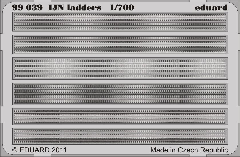 Eduard IJN ladders