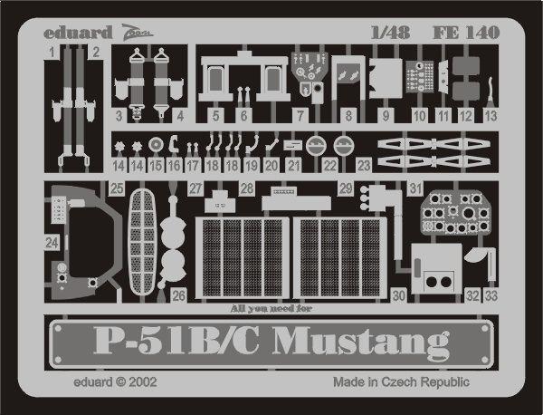 Eduard P-51B/C (Icm)