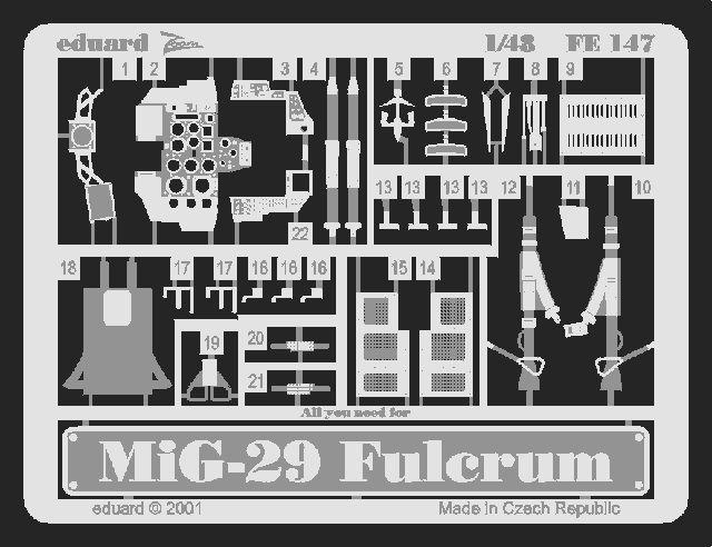 Eduard MiG-29A Fulcrum (Academy)