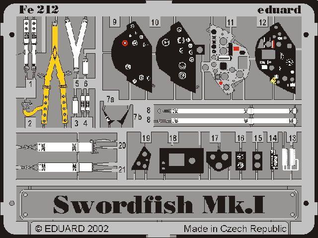 Eduard Swordfish Mk.I (Tamiya)