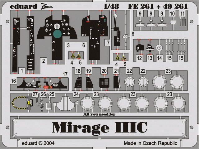 Eduard Mirage IIIC (Eduard)