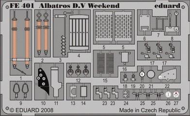 Eduard Albatros D.V Weekend (Eduard)