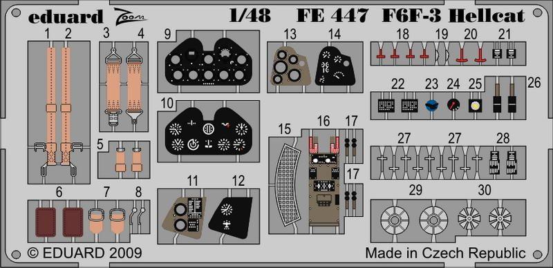 Eduard F6F-3  Weekend (Eduard)