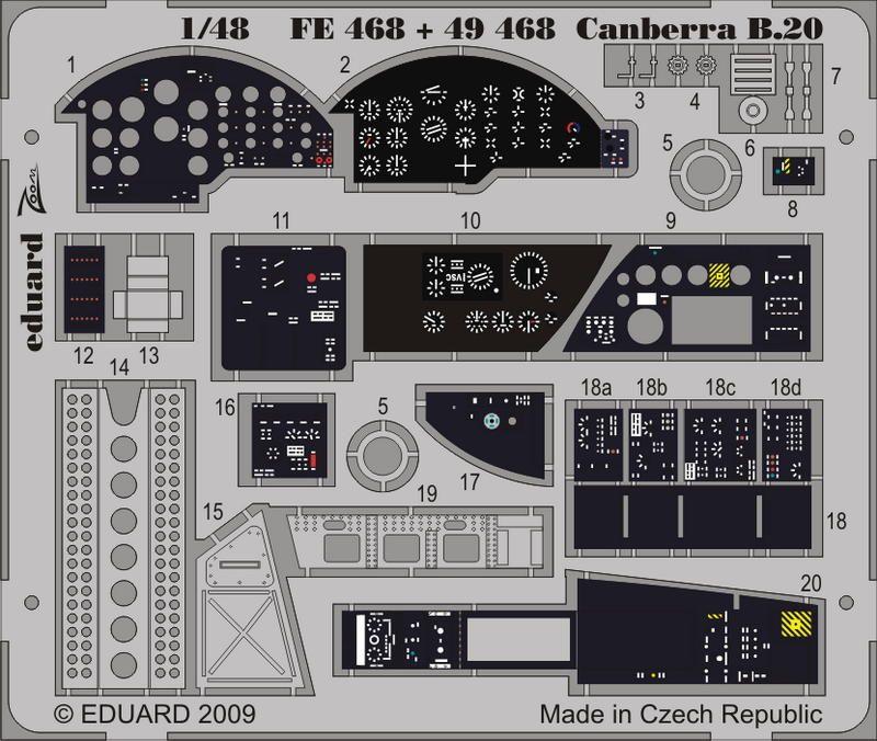 Eduard Canberra B20 S.A. (Airfix)
