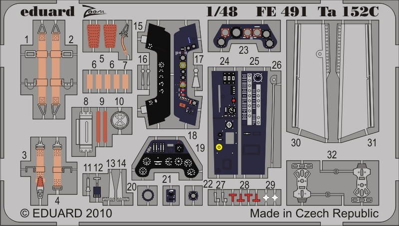 Eduard Ta 152C (Dragon)