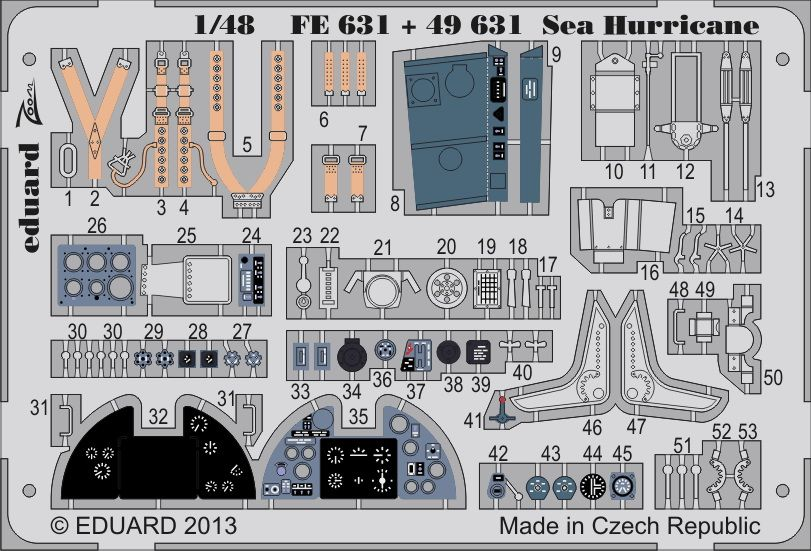 Eduard Sea Hurricane S.A. (Italeri)