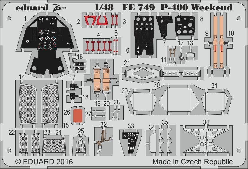 Eduard P-400 Weekend (Eduard)
