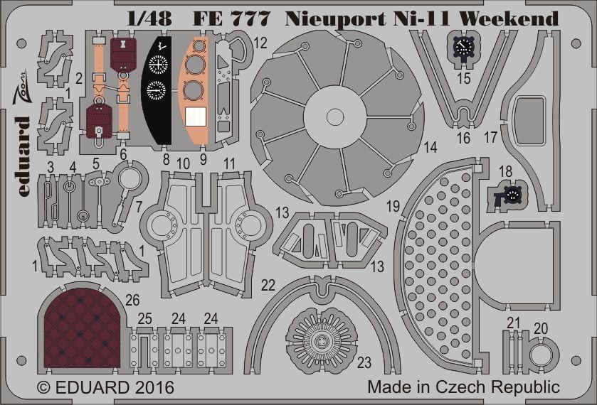 Eduard Nieuport Ni-11  Weekend (Eduard)