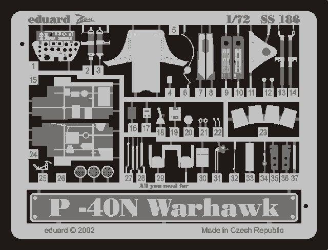 Eduard P-40N (Hasegawa)