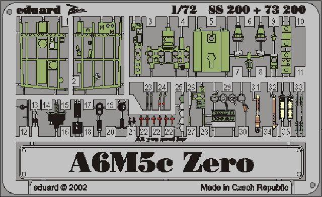 Eduard A6M5c Zero (Hasegawa)