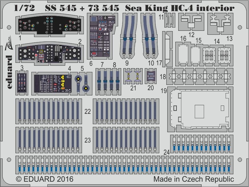 Eduard Sea King HC.4 (Airfix)