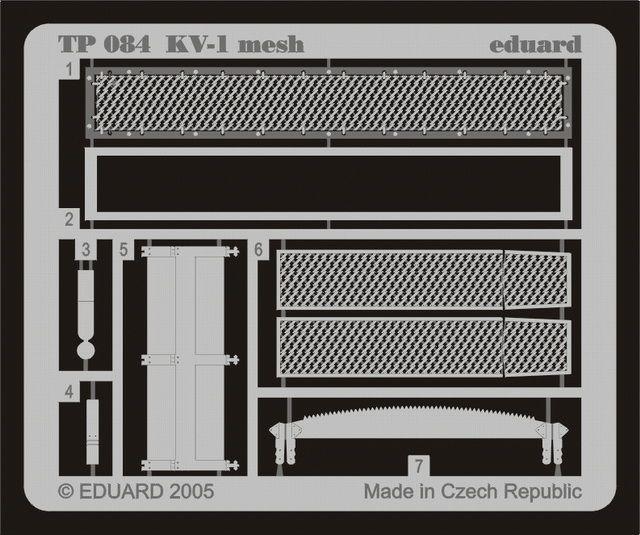 Eduard KV-1 mesh (Trumpeter)