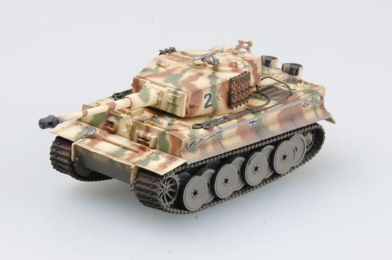 Easy Model Tiger 1 (Middle)-sPzAbt.508, Italy,1944