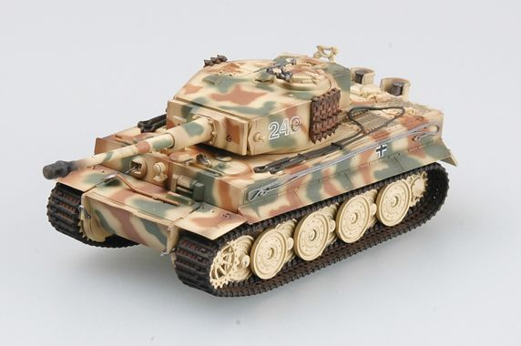 Easy Model Tiger I (late production) Schwere SS Pz.Abt.102, 1944,Normandy , Tiger 242