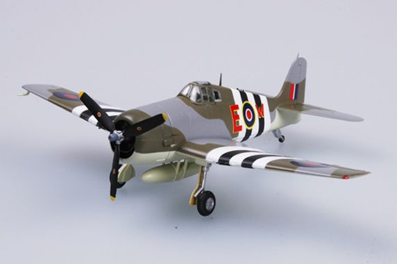 Easy Model F6F-5 Hellcat RAF 800 sqn