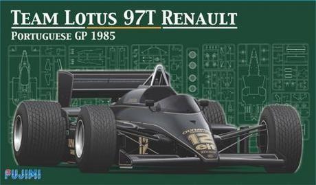 Fujimi Lotus 97T Renault Portugal 1985