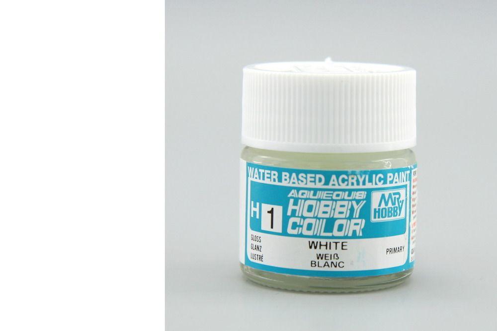 Mr Hobby Aqueous Color - White (fényes)