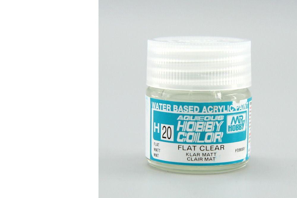 Mr Hobby Aqueous Color - Clear (matt)