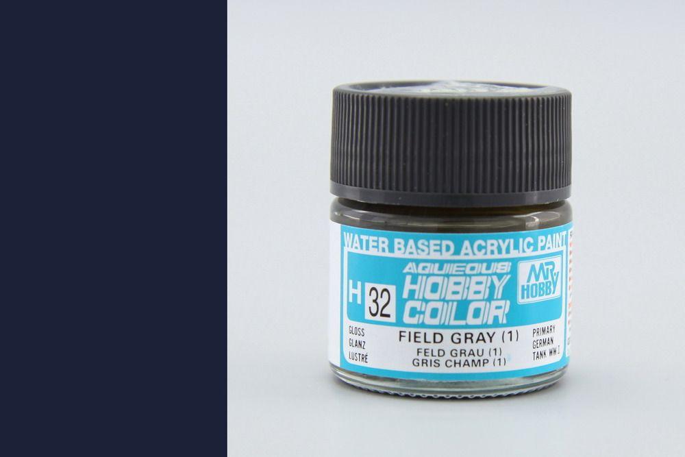 Mr Hobby Aqueous Color - Field Gray 1. (fényes)