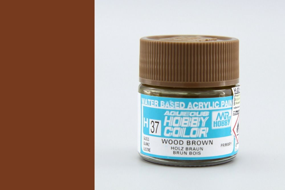 Mr Hobby Aqueous Color - Wood Brown (fényes)