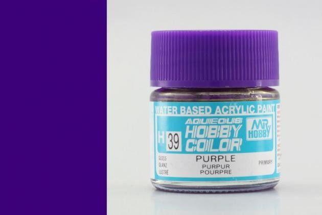 Hobby Color H39 Purple (fényes) - Bíbor szín