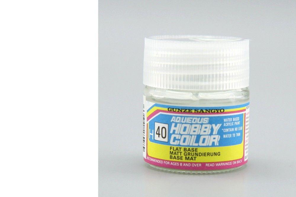 Hobby Color H40 Flat base - (mattító - fényesből szatén, szaténból matt)