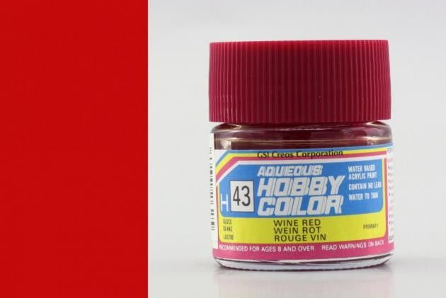 Hobby Color H43 Wine red (fényes)