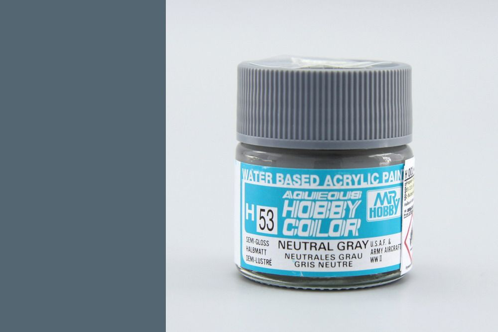 Mr Hobby Aqueous Color - Neutral Gray (selyemmatt)
