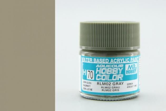 Mr Hobby Aqueous Color - Gray RLM02 (selyemmatt)