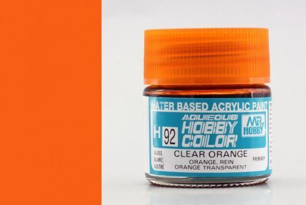 Hobby Color H92 Clear orange (fényes) - átlátszó