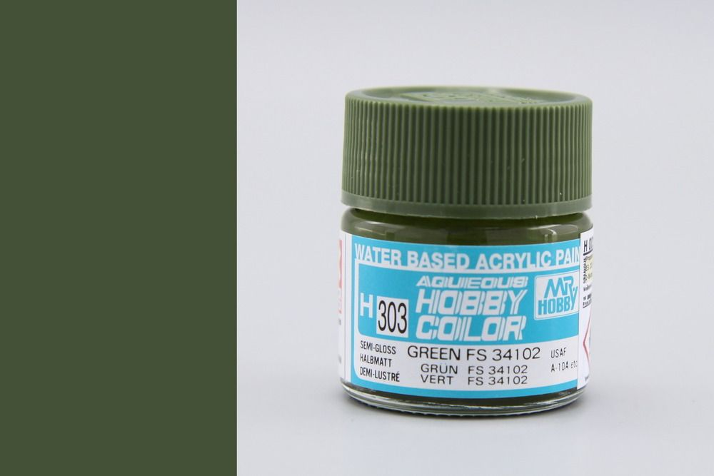 Hobby Color H303 Medium green FS 34102 (félfényes) - USAF