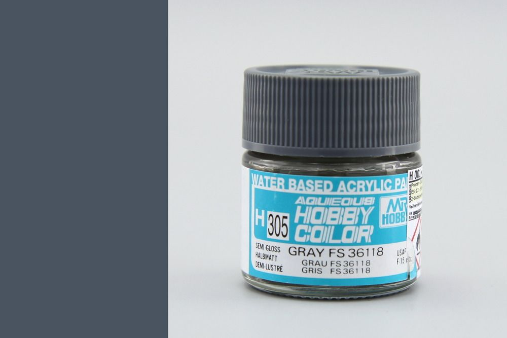 Mr Hobby Aqueous Color - Gray FS36118 (selyemmatt)