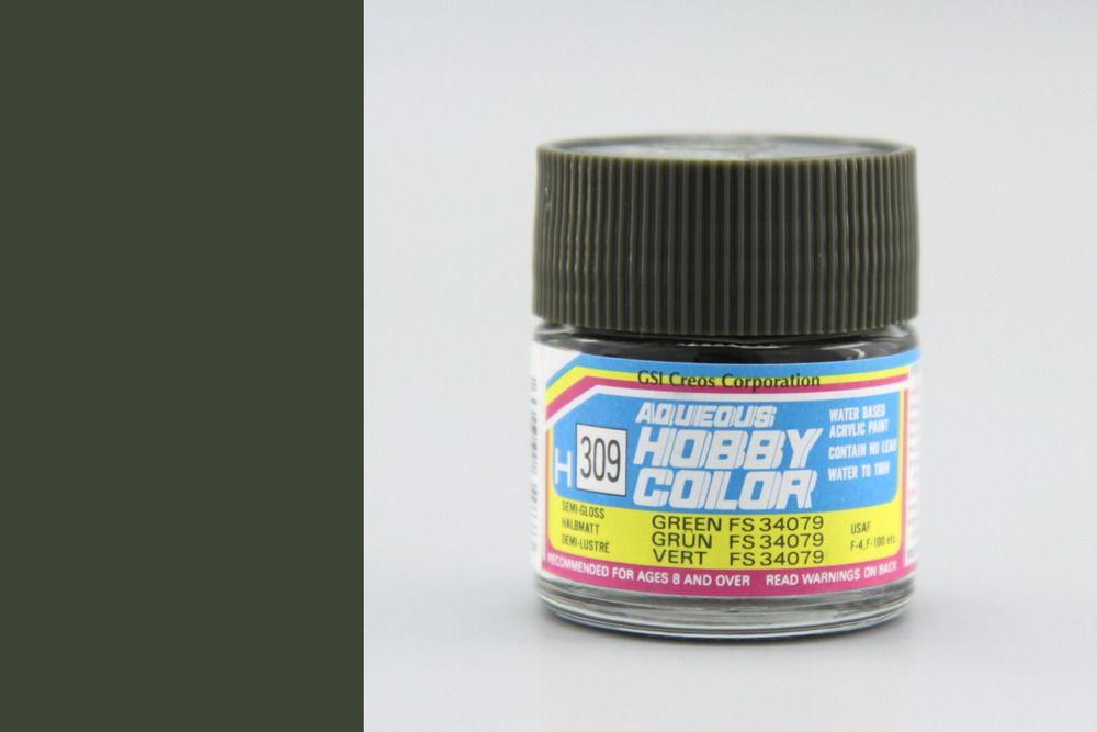 Mr Hobby Aqueous Color - Green FS34079 (selyemmatt)