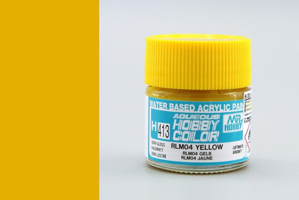 Hobby Color H413 RLM 04 Yellow (félfényes) - Luftwaffe